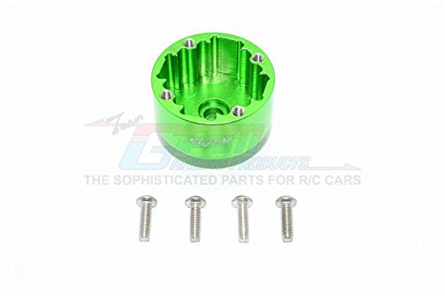 Arrma Kraton 6S BLX (AR106005/106015/106018) Upgrade Parts Aluminium Front/Rear Diff Case - 1Pc Set Green