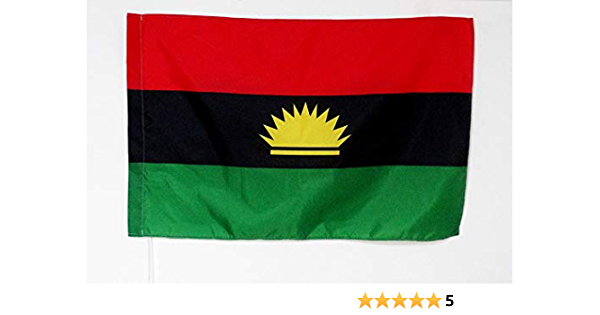 AZ FLAG Bandera de la REPÚBLICA DE BIAFRA 150x90cm para Palo - Bandera DE BIAFRA EN Nigeria 90 x 150 cm: Amazon.es: Hogar