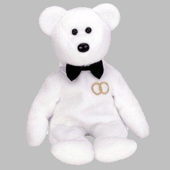 TY BEANIE Baby MR. the GROOM Bear - Retired Beanie Babies
