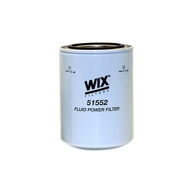 WIX Filters - 51552 Heavy Duty Spin-On Hydraulic Filter, Pack of 1: Automotive [5Bkhe2007360]