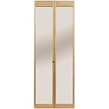 Pinecroft 885728LB Tapestry Louvered Bottom Bifold Interior Wood Door Unfinished 31.5 x 78.625