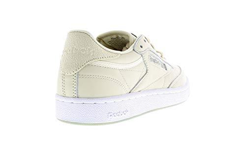 C 85 Femme Club Chaussures Beige Sportswear Metals Reebok UEqIXZwxq