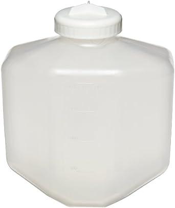 Nalgene 3120-2006 Polypropylene Copolymer 2L Bio Bottle with Polypropylene Screw Closure/Silicone Gasket (Case of 6)