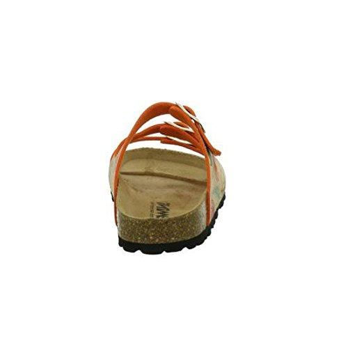 Gemini Damen Bio Pantolette 8316-88/685 peach/multi