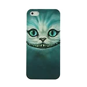 HC- Evil Cat patrón de la cara dura del caso para el iPhone 4/4S