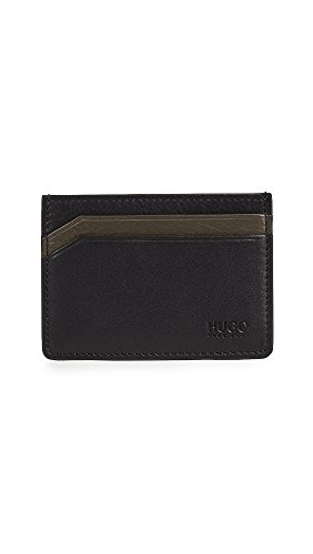 Hugo Boss Men's Subway Leather Cardholder
