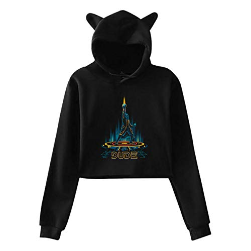 Huanghsf The Bounty Hunter Woman's Sexy Sweater Hoodie S Black