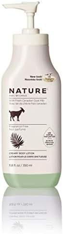 Nature by Canus, Fresh Goat's Milk Moisturizing Lotion, Fragrance-Free