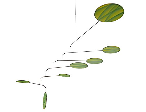 Green Canopy Modern Indoor Mobile, Horizontal Style, 22'' x 42'', American Made by Modern Artisans (Image #2)