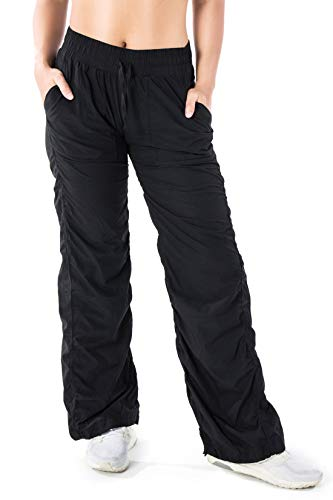 Stretch Dance Pants - Yogipace Women's Outdoor Lightweight Quick Dry Casual Active Pants Every Day Pants for Travel Commute Yoga Dance, 28