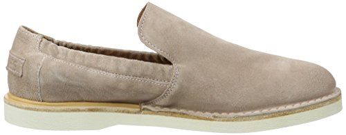 Shabbies Amsterdam Damen Shabbies Slipper Velourleder Pink (soft Rose)