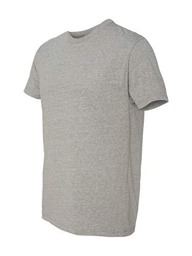 Next Level mens Next Level Premium CVC Crew(N6210)-DARK HTHR - Cotton Gray Poly