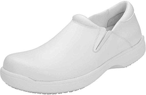 Cherokee 'Men's Slip Resistant Step In Shoe 'JACKSON'' White Wide 13 by Cherokee