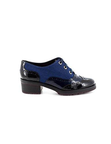 1167 De Piel 130 Negro Azul Modabella Zapato gpqw00