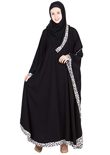 SNC-Kaftan- classic black colored in georgette fabric
