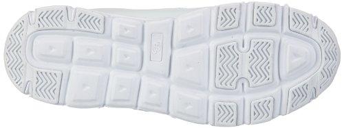 Bruetting Spiridon Classic V - Zapatillas deportivas para interior de cuero unisex blanco - Weiß (weiss)