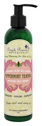 Peppermint Teatree Organic Olive Oil Lotion - Energizing Lotion Body