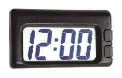 Autometer Clock - Custom Accessories CU073360 Large Readout Clock
