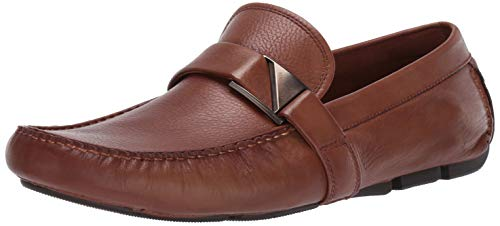 Kenneth Cole New York Men's Theme Driver C Driving Style Loafer, Cognac, 12 M US