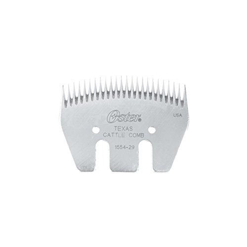 Oster Shearing Comb, 24-Tooth Texas Cattle Show Comb (Cattle Clipper)