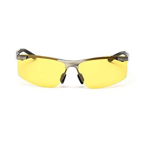 de Polarizador Nocturna Hombres Gafas Conducción Color A Sol antideslumbrante de Nocturna Gafas Espejo Visión Gafas Sol de Visión Gafas B Gafas Conducción de de de Nocturna 7xRFTw
