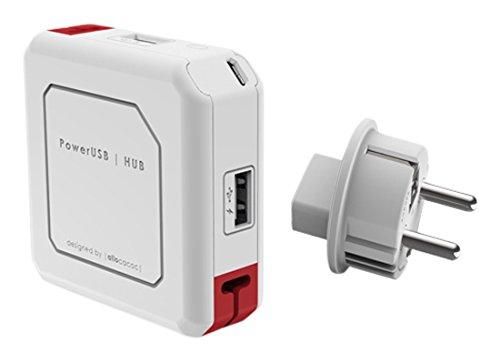 Adapters  Allocacoc PowerUSB HUB EU  (9302 EUUHUB)