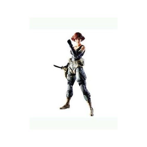 Square Enix Metal Gear Solid: Play Arts Kai: Meryl Silverburgh Action Figure (Solid Snake Square Enix)