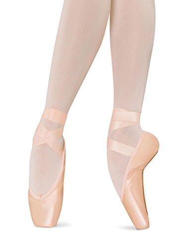 Bloch Kvinners Amelie Fleksibel Komfort Ballett Leiligheter Rosa