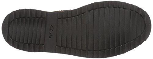 Clarks Remsen Hi - botas de cuero hombre Marrón (Brown Leather)