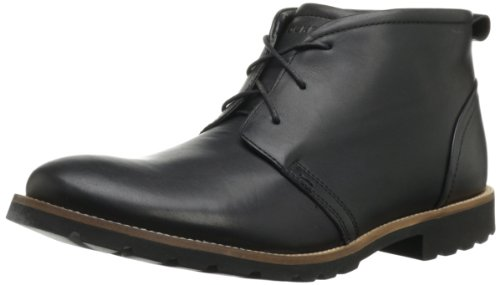 Rockport Men's Charson Lace-Up Boot-Black-10  M