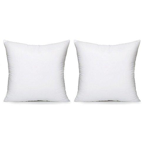 Acanva Hypoallergenic Pillow Insert Form