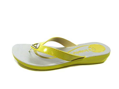 INBLU FLIP-FLOP DEL PVC MUJER MainApps Giallo