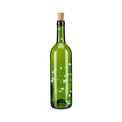 Lighting for Wine Bottles Glimmer White Lighted Bottle Stopper - Set of 12 (Sold by Case, Pack of 12)