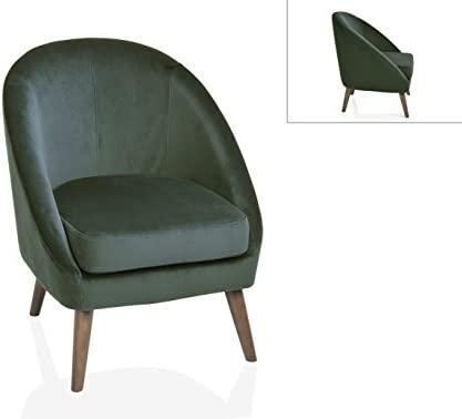Wechic Andrea House - Sillon Redondo Velvet Verde Color ...