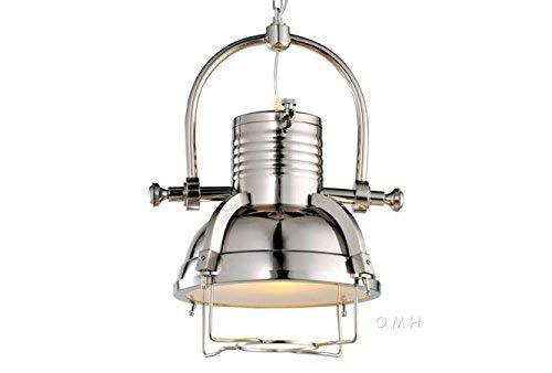 Old Modern Handicrafts Steel Pendant Lamp, Large by Old Modern Handicrafts