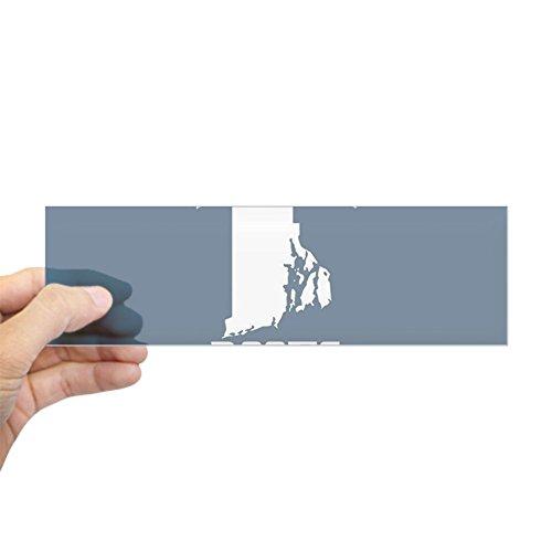 Island Rectangle Magnet (CafePress - Rhode Island Roots Dark Blue - 10