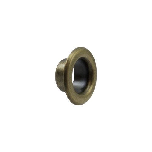 """Springfield Leather Company 5/16"""" Antique Brass Plate Short Eyelets 100 Pack"""