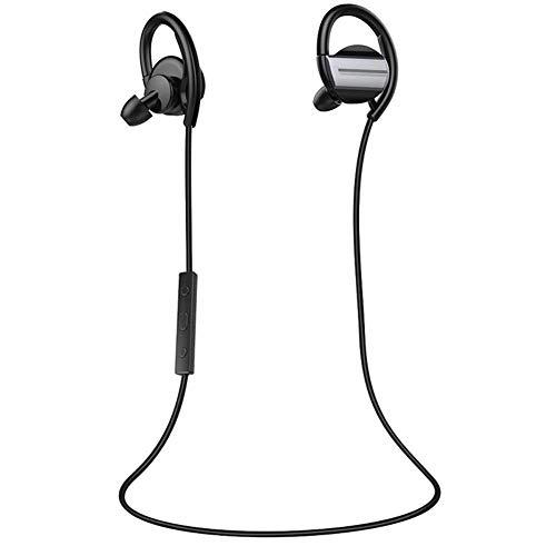 Zealot H3 Wireless Bluetooth Earphone Neckband Stereo Headset w/Mic (Grey),Holyfly