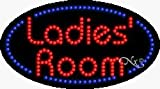 Ladies' Room LED Sign - 15 x 27 x 1 inches - Made in USA
