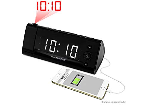 Magnasonic Usb Charging Alarm