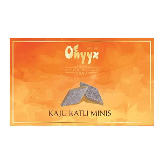 Onyyx Kaju Katli Minis- Kaju Barfi Burfi -100g