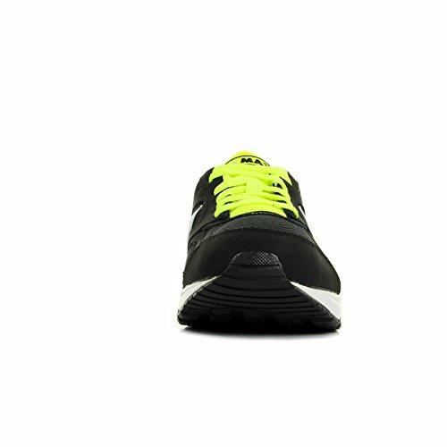 Nike Air Max Ivo (Gs), Zapatillas de Running para Hombre Negro (Black / White-Volt)
