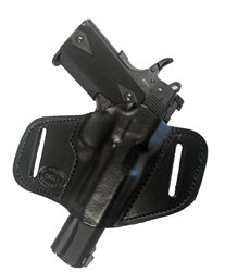 Gun Holster Beretta PX4 Storm Compact Pro Carry 7 Right Hand Outside The Waistband Black Leather - Black Leather Belt Px4 Holsters