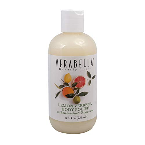 Verabella Lemon Verbena Body Polish Exfoliator with Tapioca Beads & Sugarcane, 8 ()