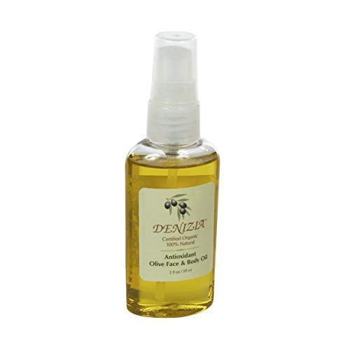 Microdermamitt Denizia Plant Based All Natural Olive Face and Body Oil Original Absorbs Quickly Fragrance Free Non-greasy