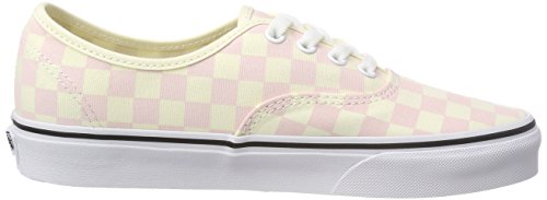 Classic Pink Vans Checkerboard Chalk Authentic White Capq4