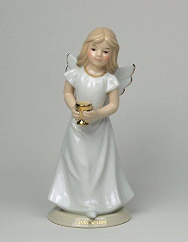(Cosmos First Communion Angel Ceramic Figurine)