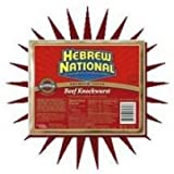 Conagra Hebrew National Skinless Beef Knockwurst, 12 Ounce -- 12 per case.