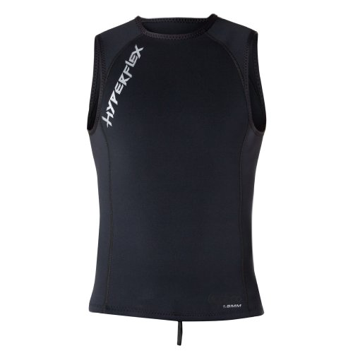 Hyperflex Wetsuits Men's Voodoo 1.5mm Pullover Vest, Black, Medium - Surfing, Windsurfing & - Best Wetsuit Mens