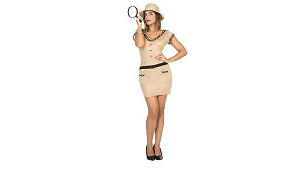 Fancy Me Disfraz de Safari Explorador de zoológico para Mujer ...